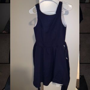 Lauren James WITH TAGS Emerson solid navy dress